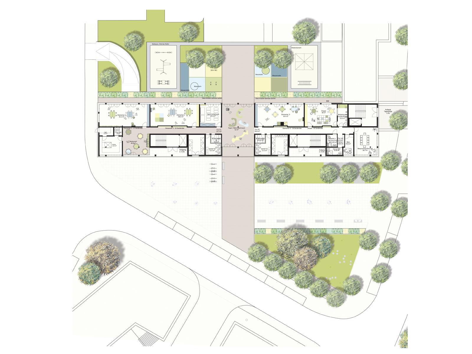 New Apartment Block And Townhouses In Erfurt Bruhl Sud Design